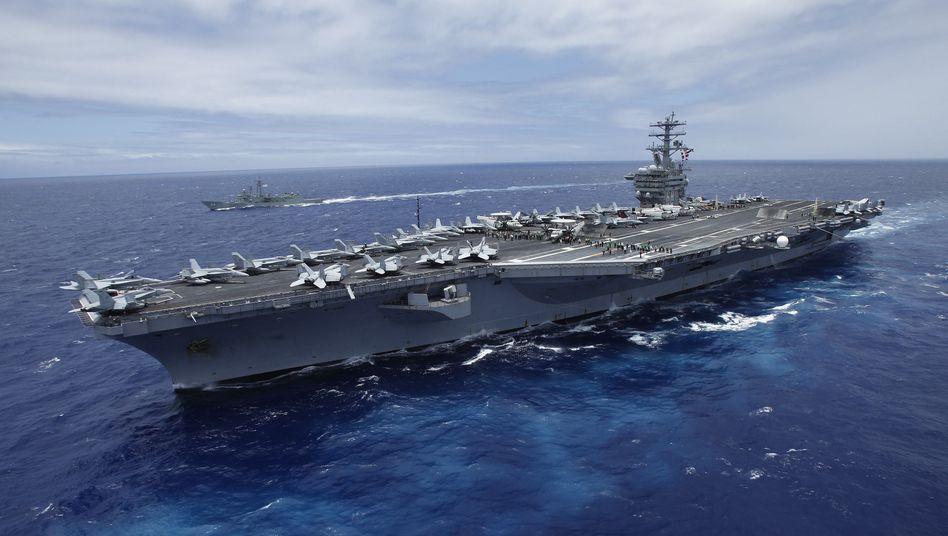 "U.S.S. ""Nimitz"": Vorbild für Irans Fake-Flugzeugträger"