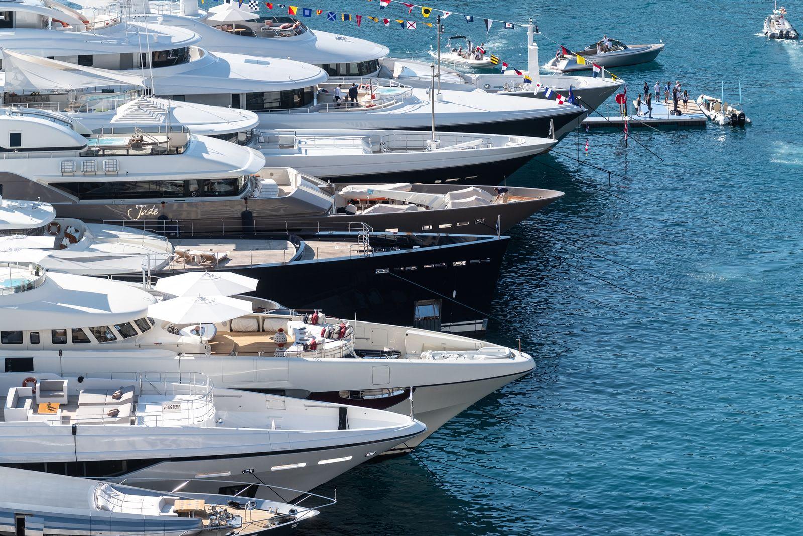 EINMALIGE VERWENDUNG Luxus Yachten Monaco