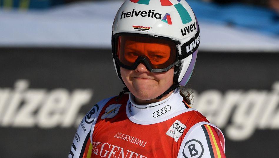 Viktoria Rebensburg freut sich nicht unbedingt auf die nächsten Olympischen Spiele