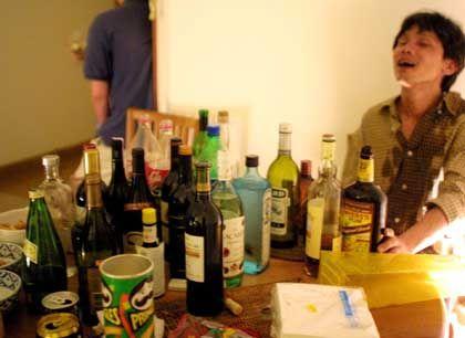 Schon die Wochenend-Party könnte böse Folgen haben