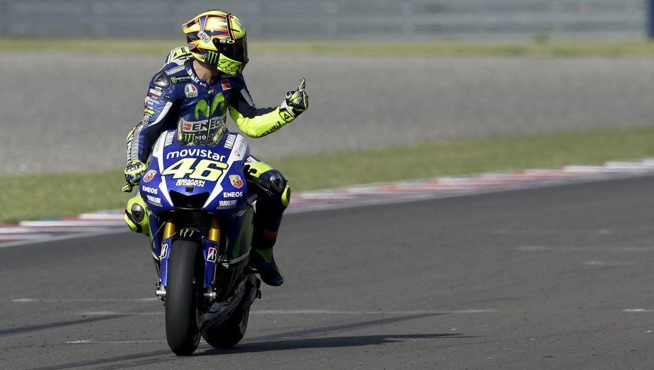 MotoGP-Pilot Rossi: Sieg in Argentinien