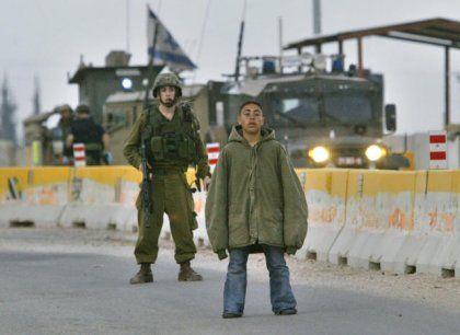 Kontrollstelle Hawara: Unter seinem Parka trug der Junge einen Sprengstoffgürtel