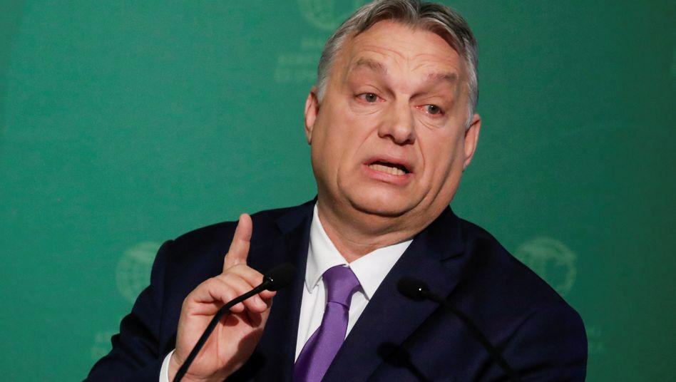 Ungarns Regierungschef Orbán: Brandbrief gegen Tusk