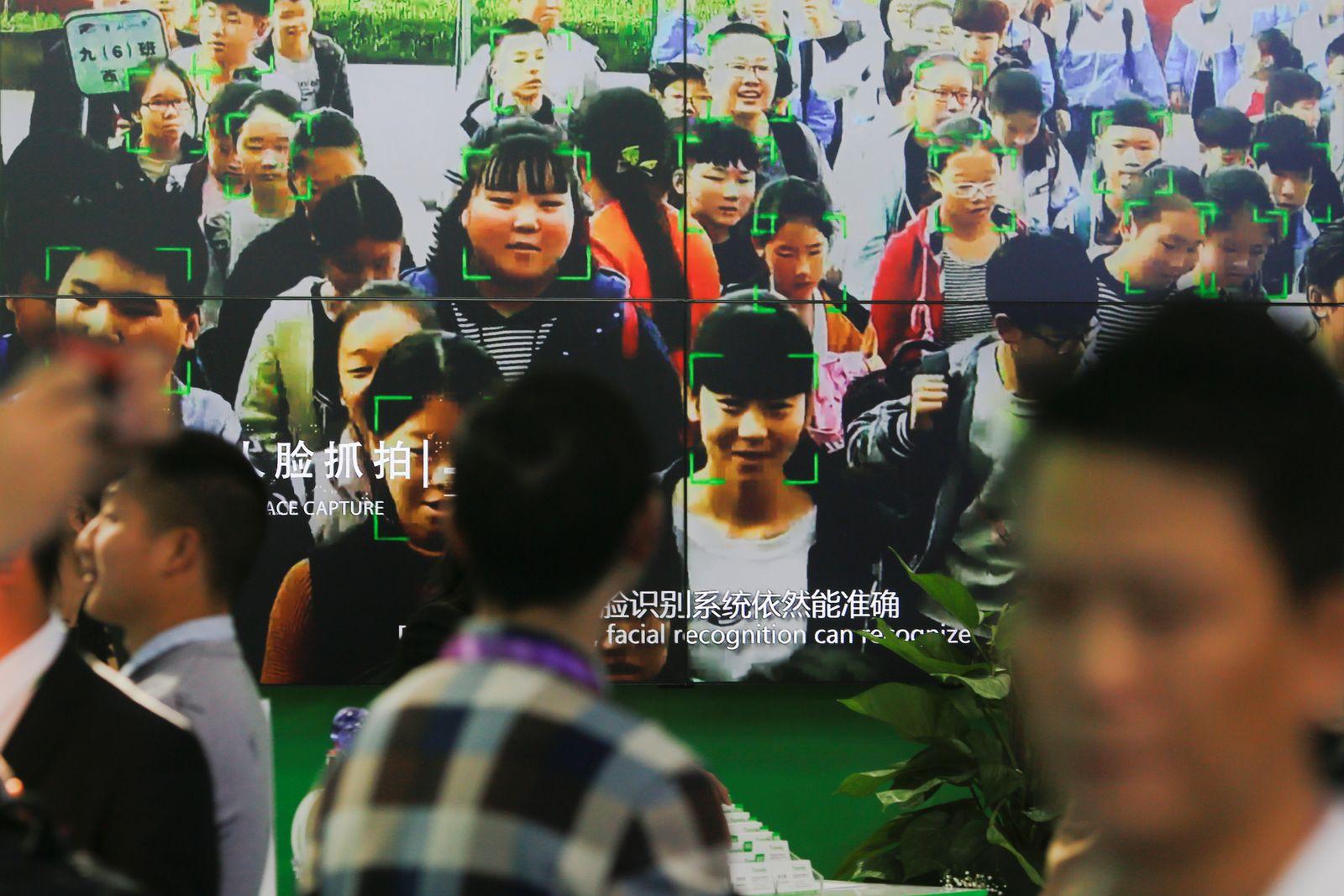 China Überwachung / Gesichtserkennung
