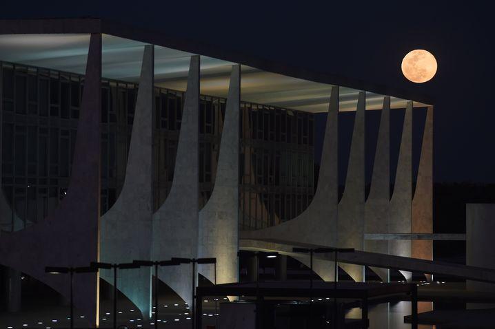 Präsidentschaftspalast Planalto in Brasilia