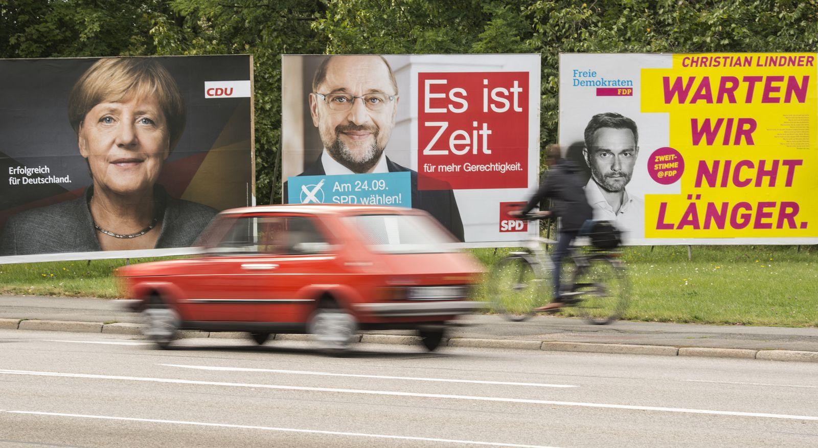 Bundestagswahl 2017/ Wahlplakate/
