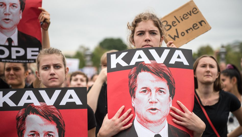 Demonstration gegen Brett Kavanaugh in Washington