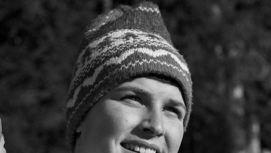 Nicola Werdenigg, die in den Siebzigerjahren als Nicola Spieß alpine Weltcuprennen bestritt