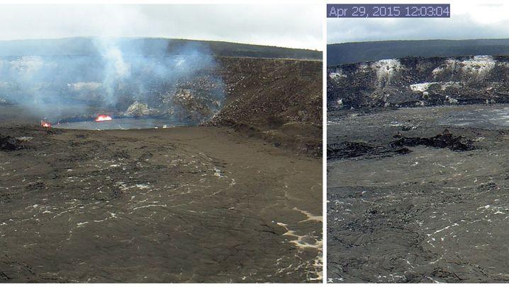 Lavasee auf Hawaii: Glühendes Inferno