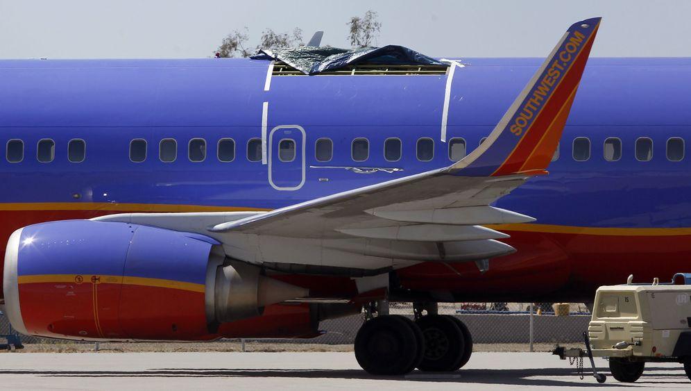 Loch im Flugzeug: Southwest und seine Pannenflieger
