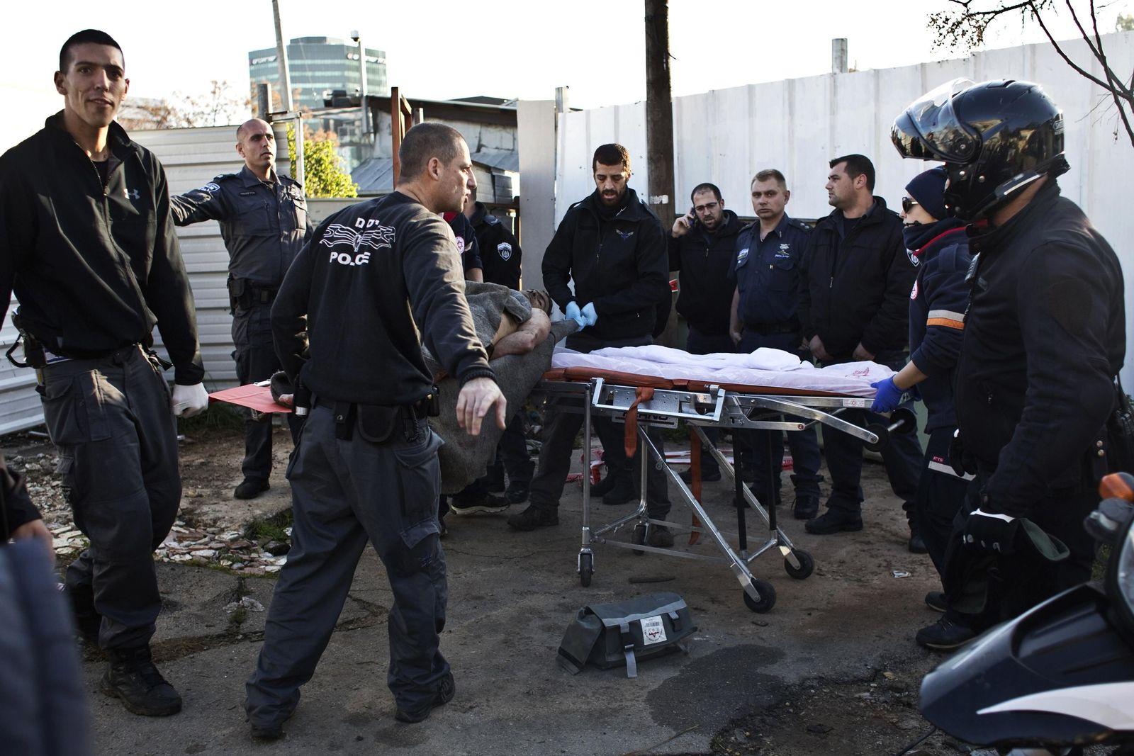 Tel Aviv / Anschlag