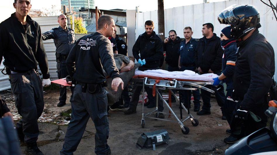 Tatort in Tel Aviv: Messerattacke im Berufsverkehr