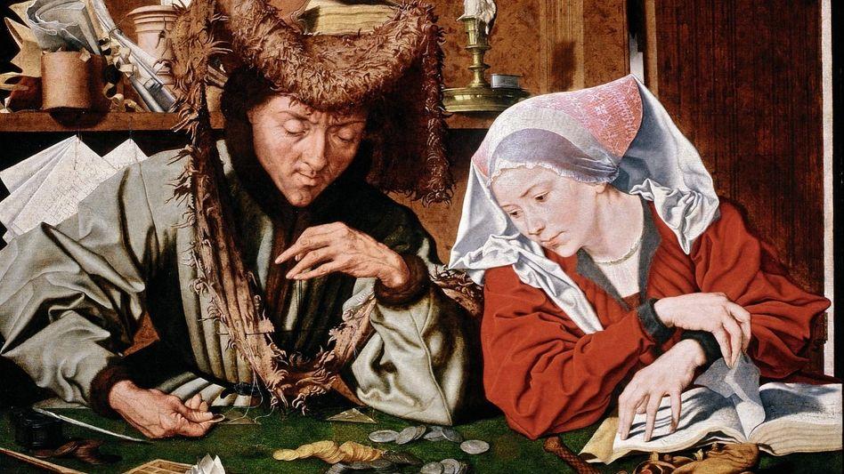 Reymerswaele-Werk »Der Geldwechsler und seine Frau«, 1539
