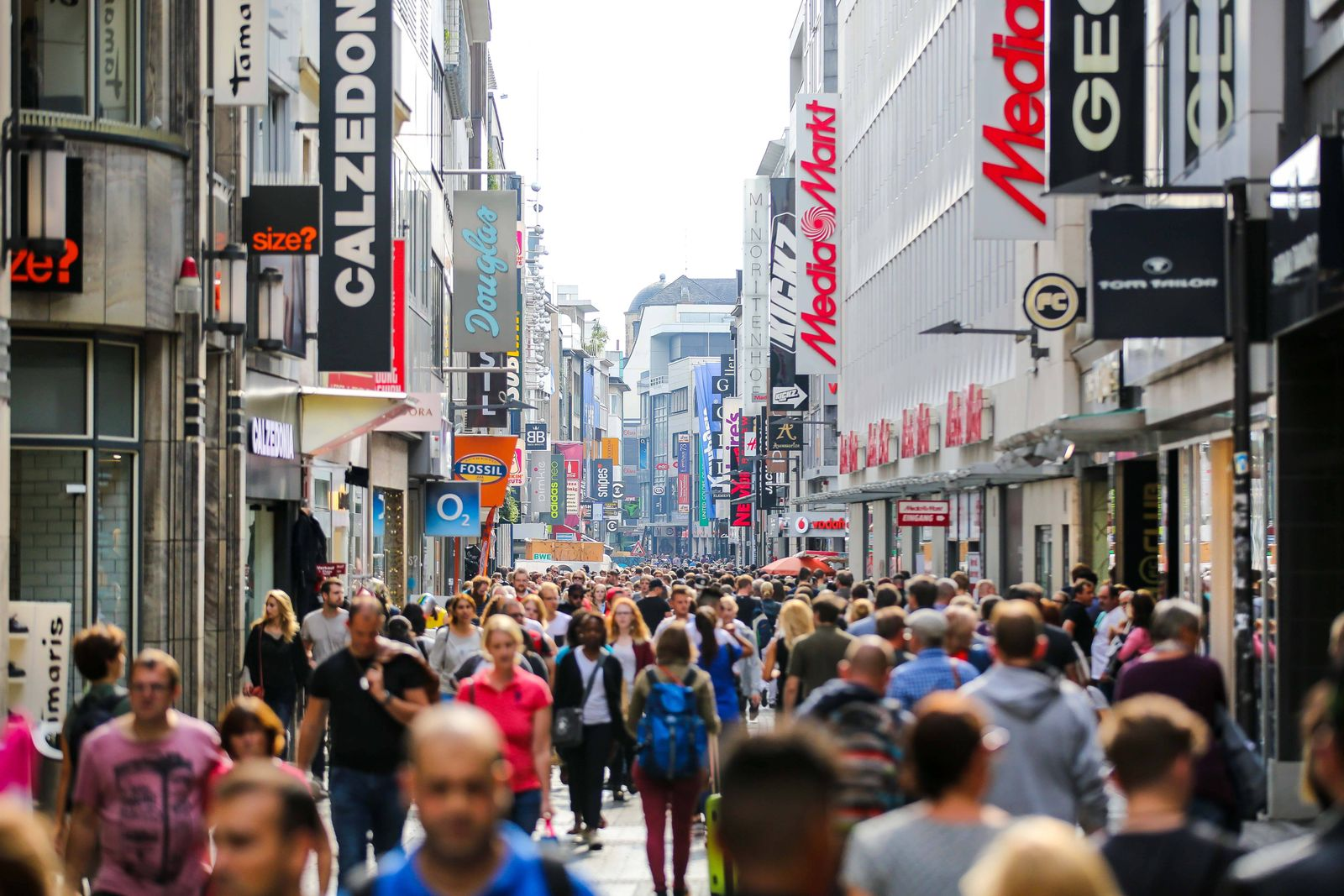 EINMALIGE VERWENDUNG Deutschland / Konjunktur / Konsum / Shopping / Verbraucher