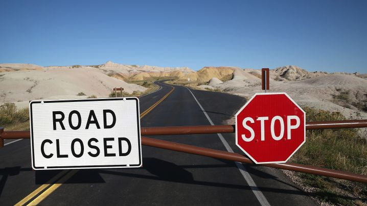 US-Nationalparks: Wegen Regierungskrise geschlossen