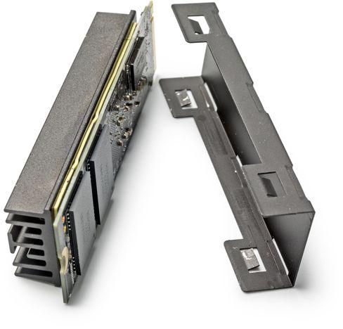 SSD in M.2-Form: Diese Variante unterstützt das schnelle PCI-Express-Interface