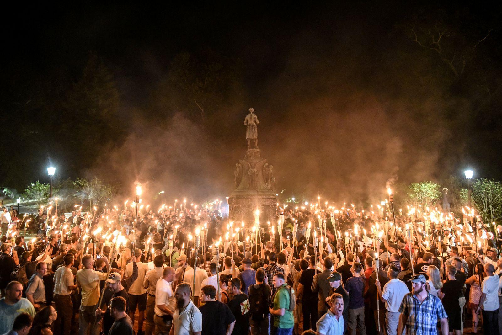 USA Charlottesville Demo Nazis