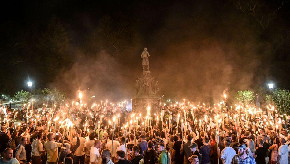 Aufmarsch von Rechtsradikalen in Charlottesville (Archivfoto)