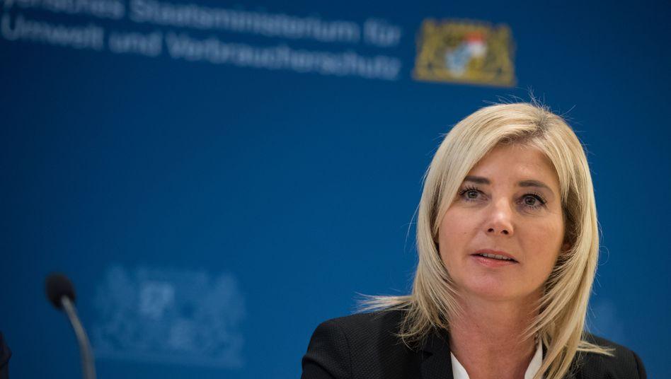 """CSU-Politikerin Ulrike Scharf, Chefin der bayerischen Frauen Union: """"Viele Mitglieder der Frauen Union haben in der Quotenaussprache Verletzungen erlitten, die noch heute spürbar sind und aufgearbeitet werden müssen"""""""