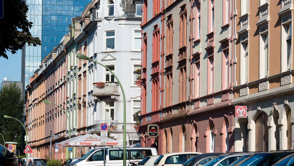 Straßenzug in Frankfurt am Main: Groß genug für den Aufstieg in den MDax