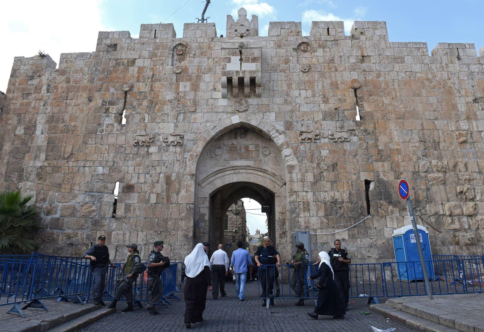 EINMALIGE VERWENDUNG Jerusalem / Lions Gate