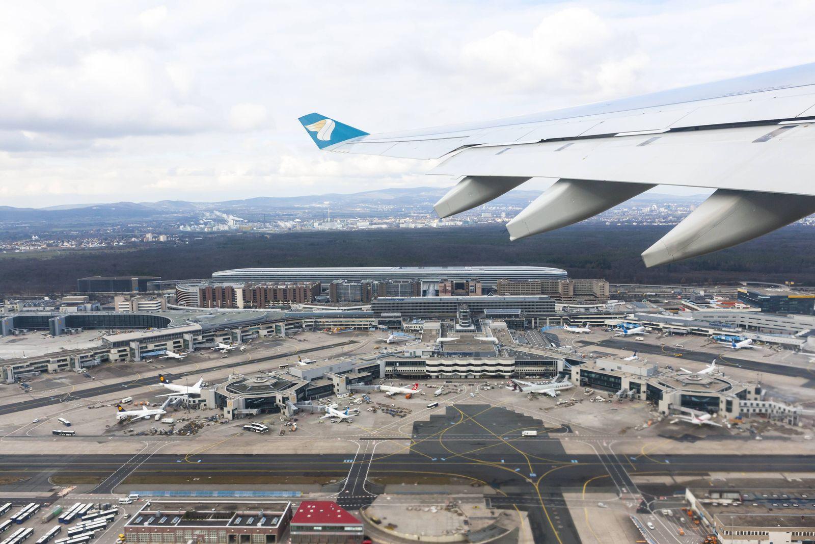 EINMALIGE VERWENDUNG Flughafen Frankfurt