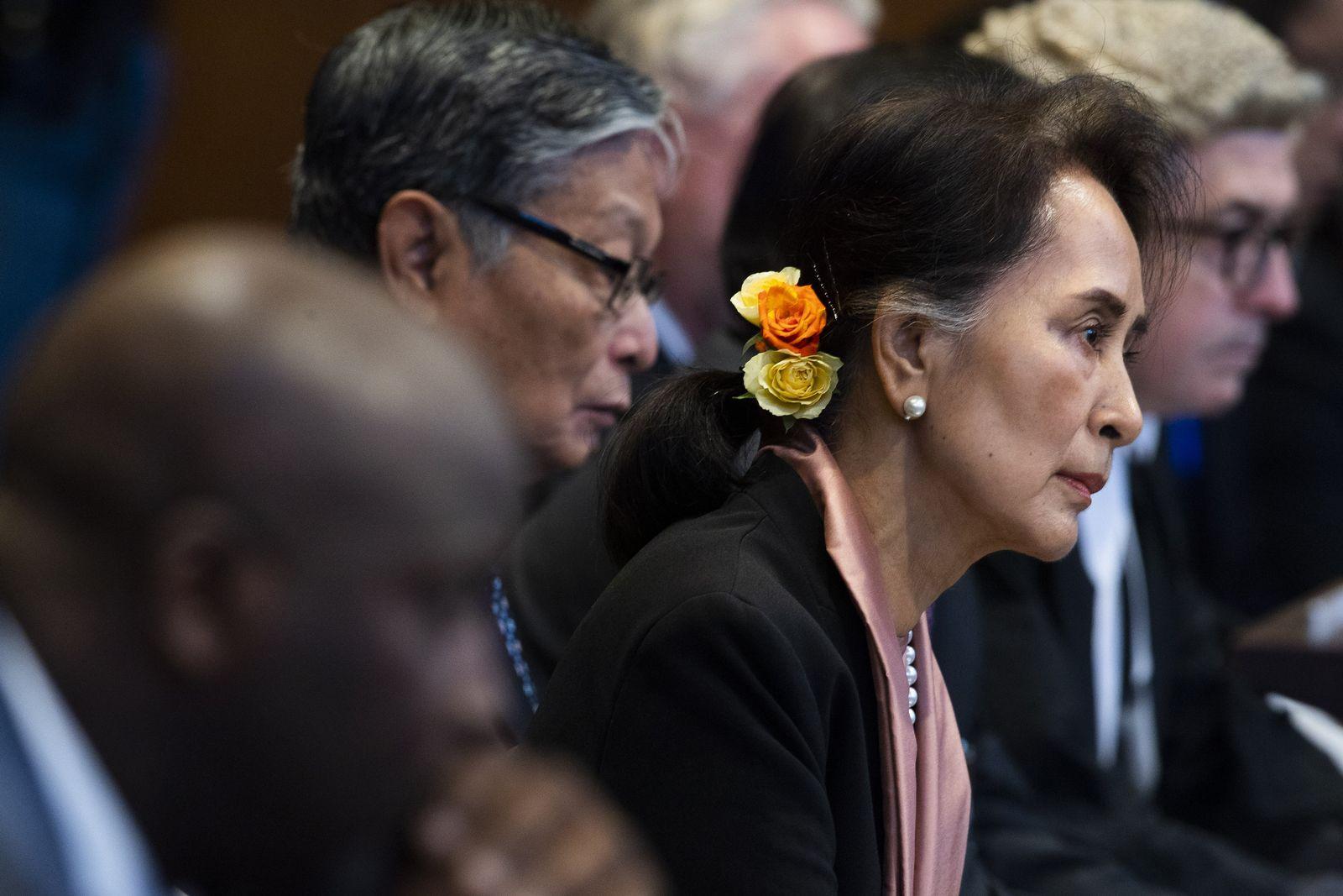 Netherlands International Court Rohingya