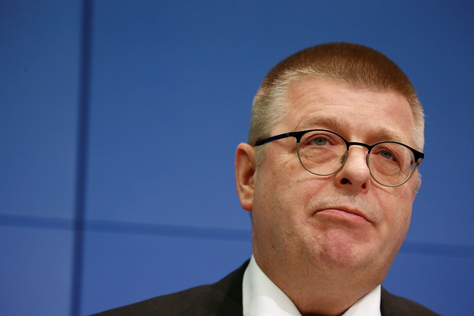 President of the Federal Office for the Protection of the Constitution Haldenwang news conference in Berlin
