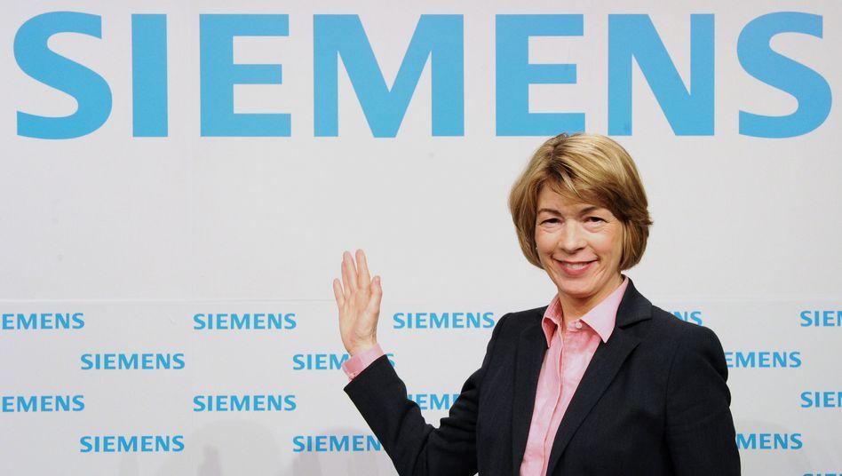 Siemens-Vorstand Barbara Kux: Nach vier Jahren ist Schluss