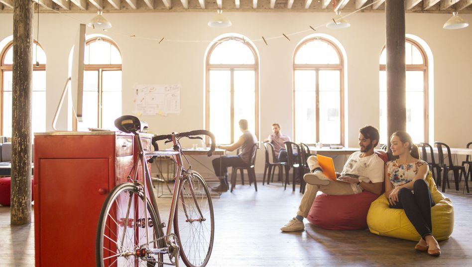 """Co-Working-Büro (Symbolbild): """"Gigantisches und unnötiges Umverteilungskarussell"""""""