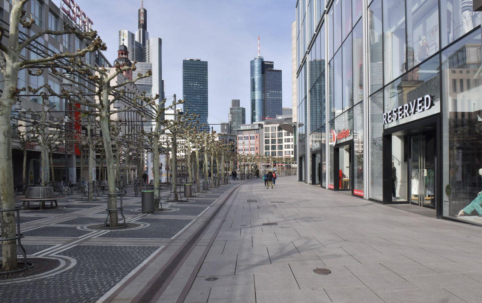 xblx, Frankfurter Zeil in Zeiten von Corona, emwirt Frankfurt am Main *** xblx, Frankfurter Zeil in times of Corona, em