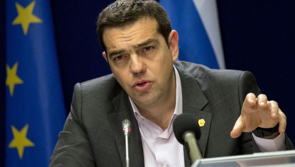 Griechenlands Premier Tsipras: 800 Millionen durch Kampf gegen Steuerbetrug