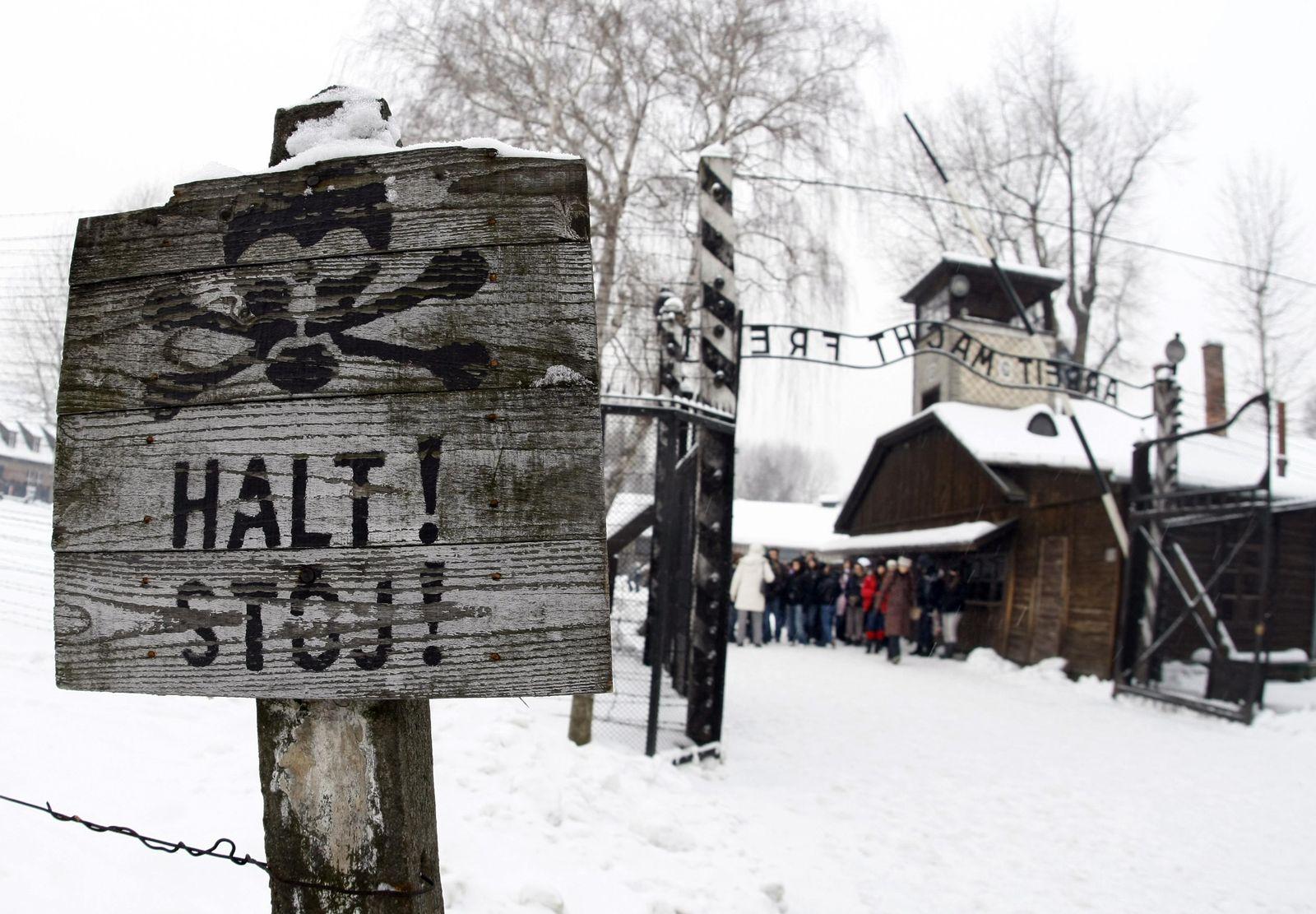 Auschwitz Eingangstor