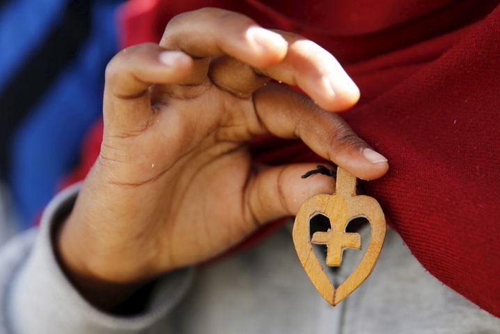 Handgemachtes Kruzifix aus Eritrea: Herrschaft der Angst