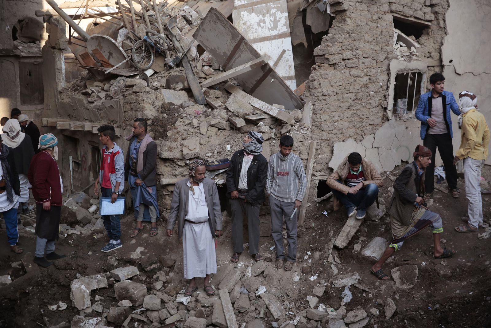 Situation in Jemen/ Luftangriff in Sanaa