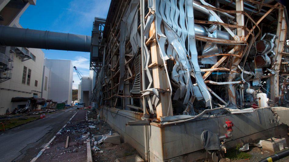 Reaktorruine in Fukushima (Archivbild): Unter Kontrolle?