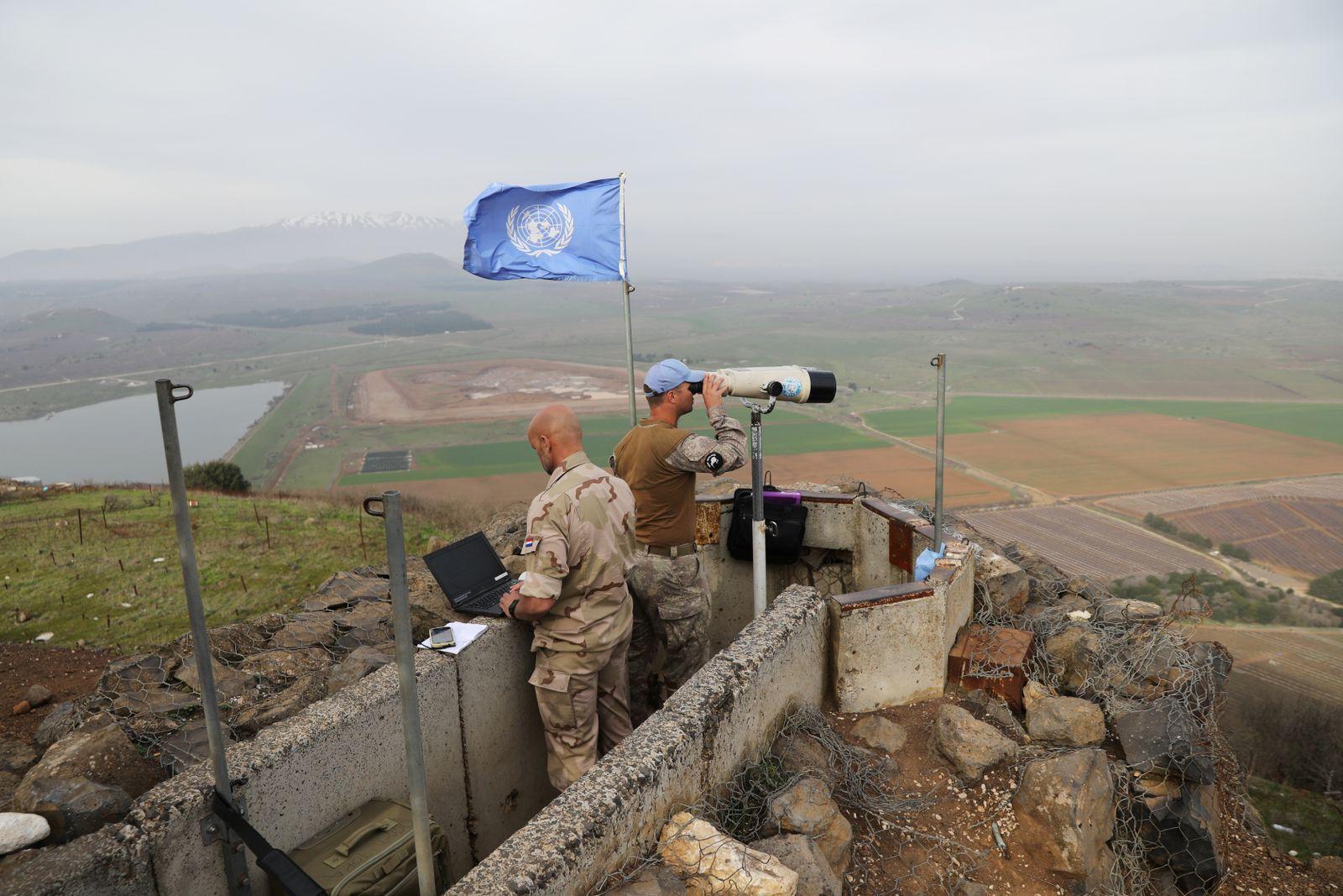 UN-Blauhelme / Golanhöhen
