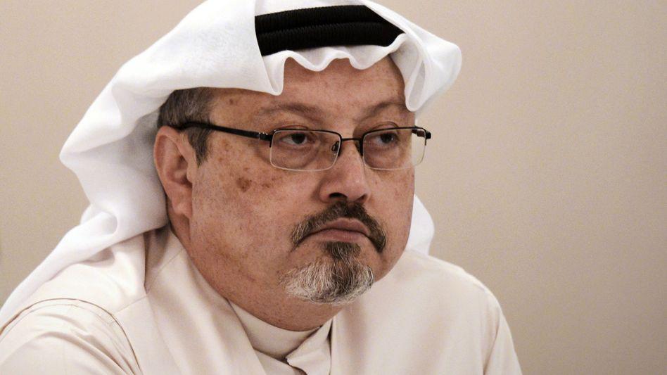 Der saudi-arabische Journalist und Regierungskritiker Jamal Khashoggi (Archivfoto 2014)