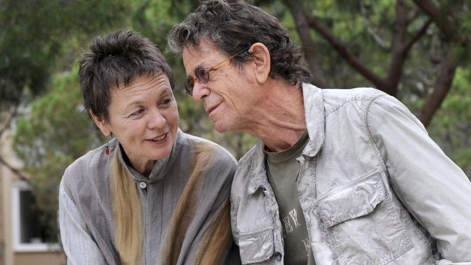 """Laurie Anderson und Lou Reed im Jahre 2009: """"Es lebe die Schönheit."""""""