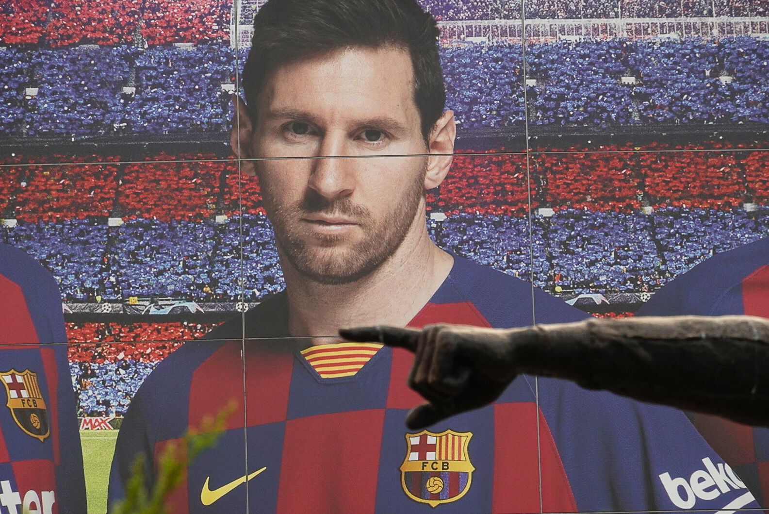 Lionel Messi announced to leave FC Barcelona, Spain - 28 Aug 2020