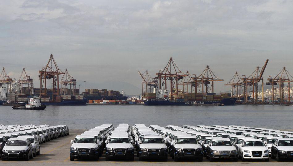 Griechischer Containerhafen Piräus