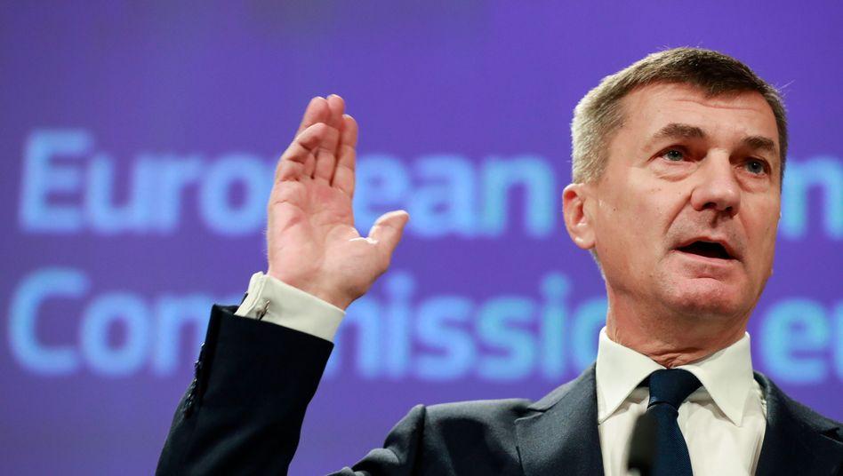 EU-Kommissar Andrus Ansip