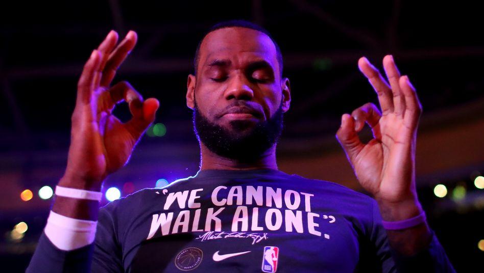 Sportler LeBron James: Bester Basketballer seiner Generation – und mehr