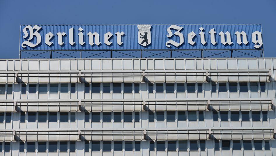 """Die einstige Redaktion der """"Berliner Zeitung"""" in Mitte: 2019 hatte der bisherige Eigentümer DuMont das Blatt an das Ehepaar Silke und Holger Friedrich verkauft"""
