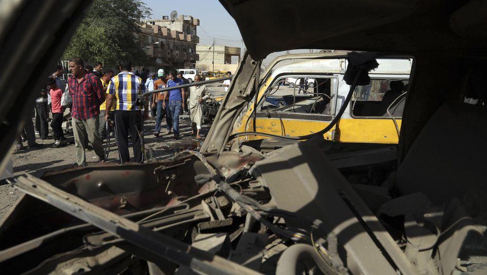 Irak: Dutzende Menschen sterben bei Anschlagserie