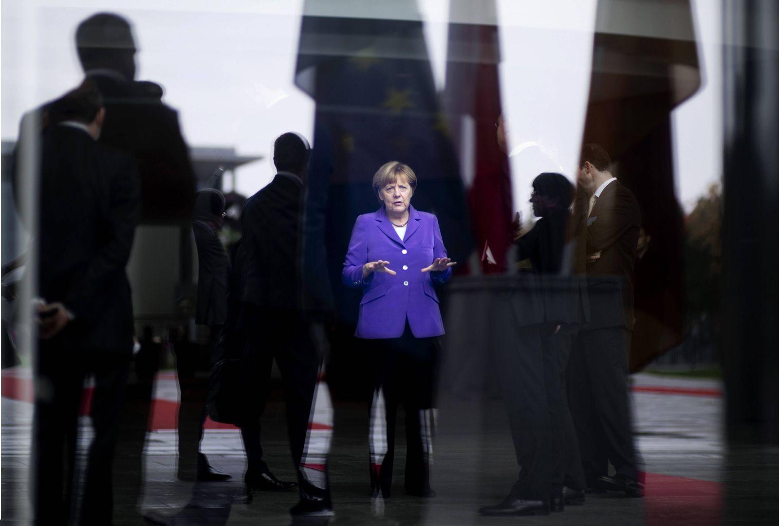 EINMALIGE VERWENDUNG Merkel