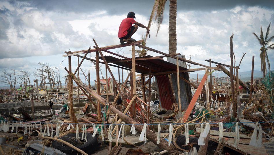 Taifun-Katastrophe auf den Philippinen: Industriestaaten wollen für künftige Schäden durch den Klimawandel nicht zahlen