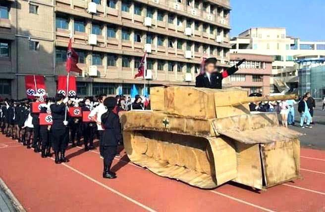 Taiwan school spologizes for students Nazi-themed performance