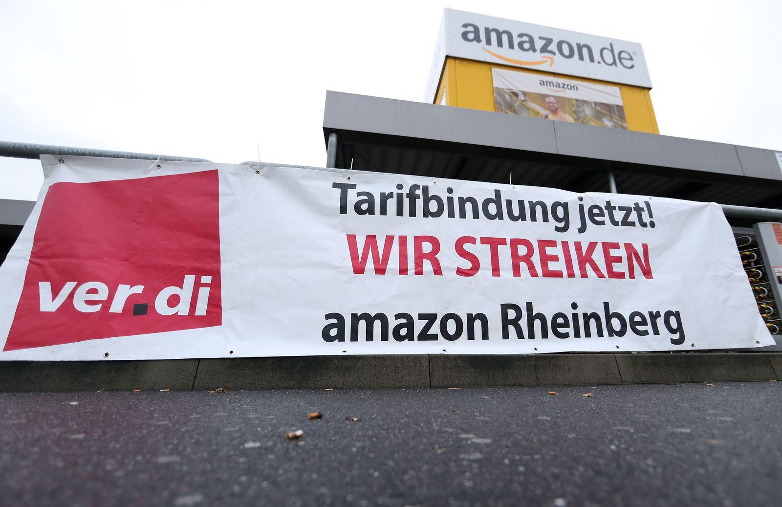 Verdi Amazon Streikaufruf Rheinberg