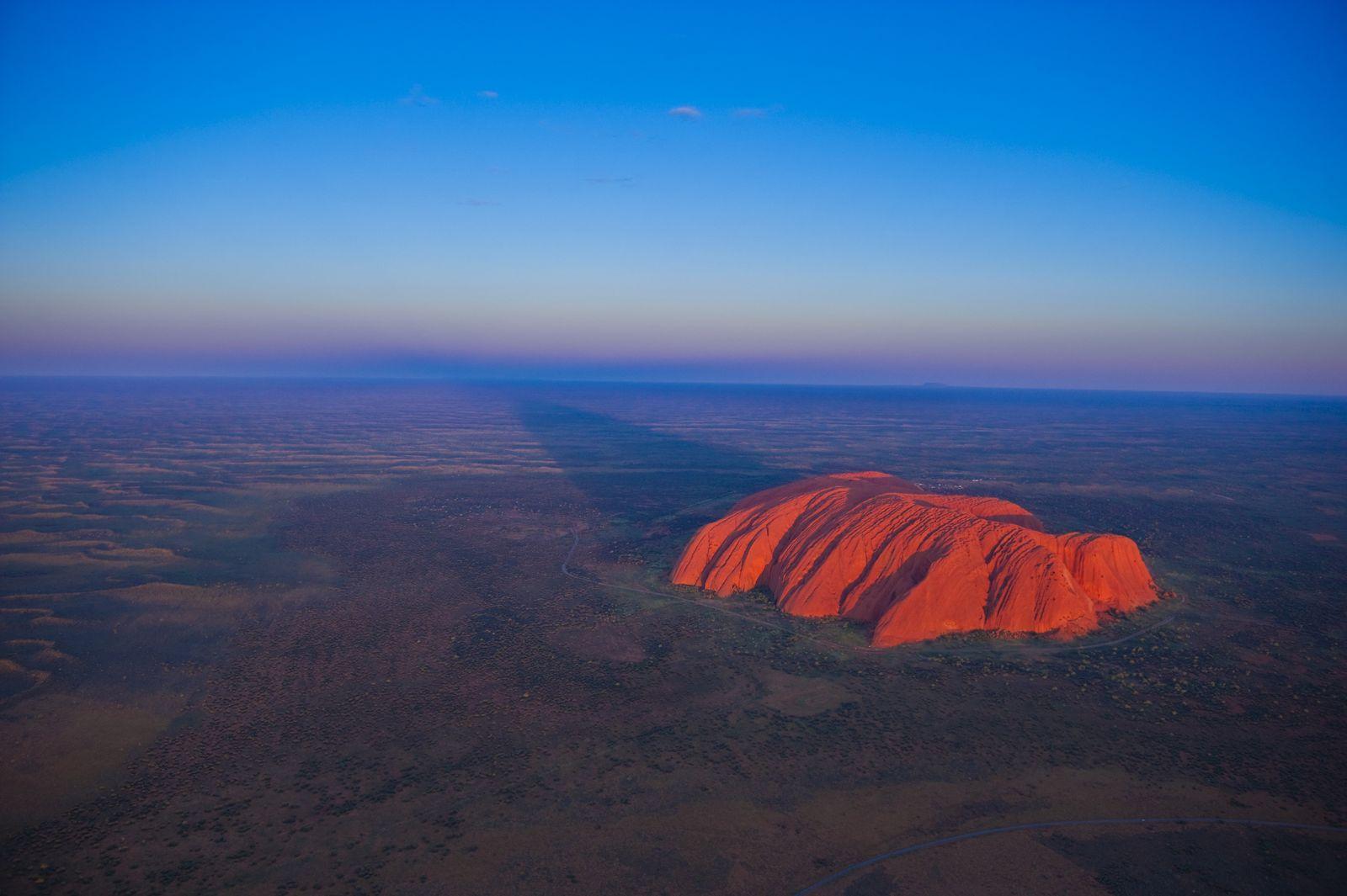 EINMALIGE VERWENDUNG Uluru/ Ayres Rock/ Tourismus